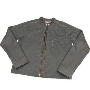 Guess by Marciano Vintage Lined Waxed Denim Jacket